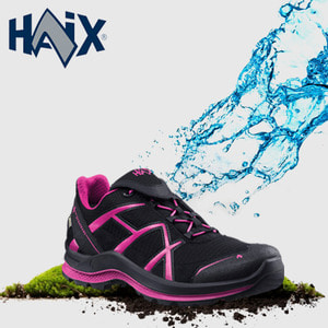 [HAIX] ADVENTURE 2.0 LOW BLACK-MAGENTA