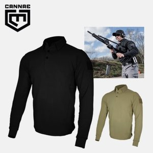 [CANNAE] PROFESSIONAL OPERATOR POLO/LONG SLEEVE